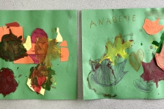 Mixed Media Leaf Collage, Pre-K